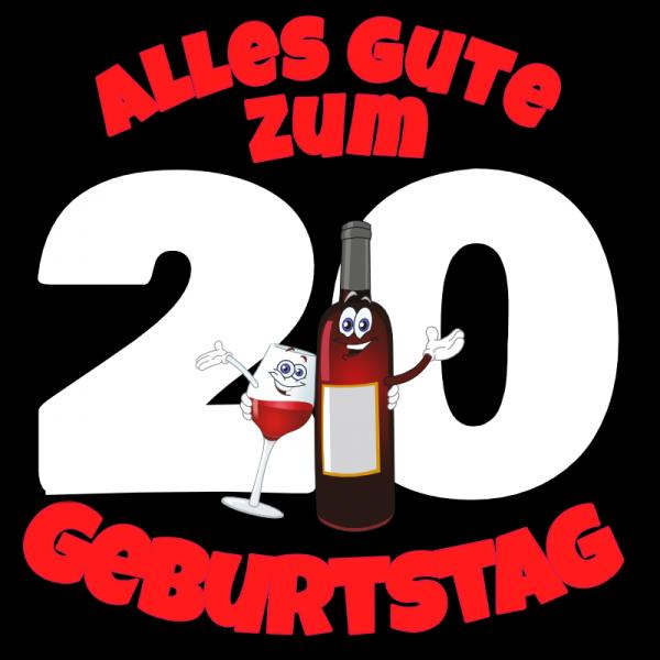 20. Geburtstag   Geburtstagsbanner   Banner zum Geburtstag  
