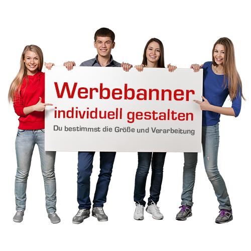 Werbebanner | Banner | PVC-Banner | PVC-Plane | Online selbst gestalten | Bannerplane | Werbe-Banner |