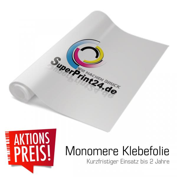 Monomere Klebefolie | Klebefolien | Aufkleber | Kurzfristige Klebefolie | Superprint24.de