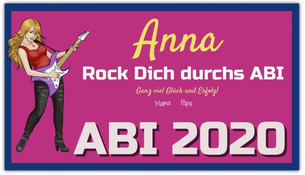 Abi Banner Rock Dich Durchs Abi
