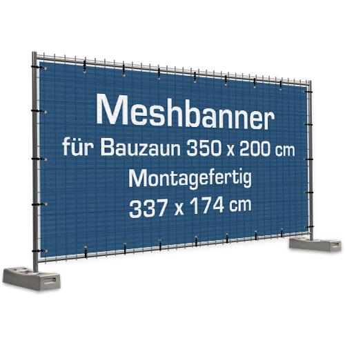 Zaunbanner | Meshplane | Mashplane | Mashbanner | Mash | Bauzaunbanner